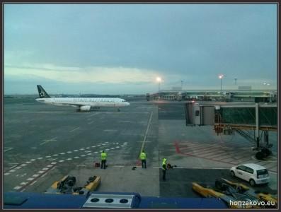 Naše letadlo Airbus A321-231 (TC-JRB) do Istanbulu