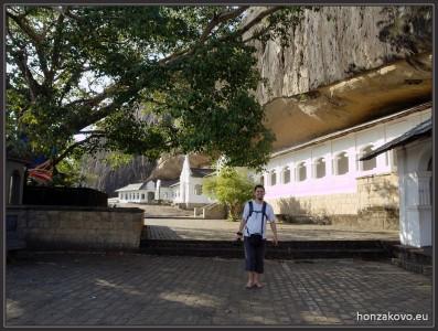 Skalní chrám Dambulla